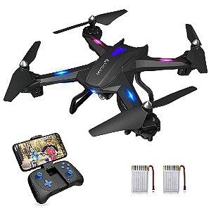 Drone Snaptain S5C WiFi FPV Câmera HD 720p Controle por Voz RC Quadcopter Altitude Hold DRON