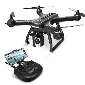 Drone HS700 FPV 1080p HD Câmera de Vídeo Ao Vivo GPS RC Quadcopter Transmissão Wi-Fi DRON