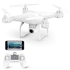 Drone Potensic T25 GPS FPV RC Câmera e Retorno Quadcopter Ângulo Amplo 1080P HD WiFi DRON