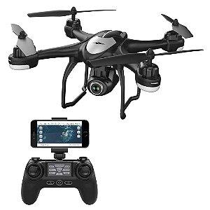 Drone Potensic T18 GPS FPV RC Câmera Vídeo ao Vivo Quadcopter Ângulo Amplo 1080p HD WiFi DRON