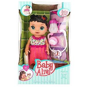 Boneca Baby Alive com Acessórios Infantil