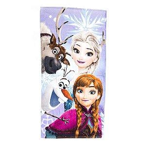 Toalha De Banho Elsa e Anna Felpuda Infantil Personagens