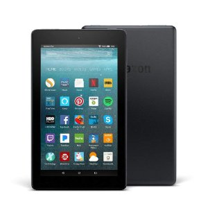 Tablet Fire 7 com Alexa Display 8GB Preto com Câmera Frontal HD 720p