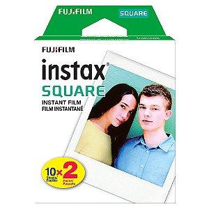Filme Instantâneo Instax Square Película Com 20 Poses Fujifilm