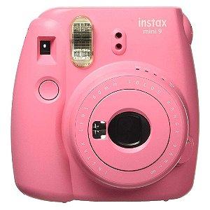 Câmera Instantânea Fujifilm Instax Mini 9 Flamingo Pink