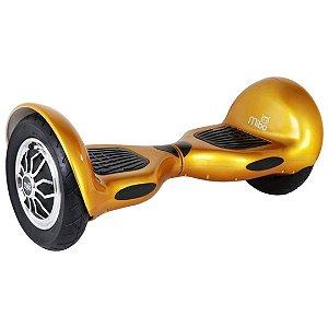 """Hoverboard Elétrico Dourado Mibo MB-003 com Roda de 10"""" e Bluetooth"""