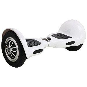 "Hoverboard Elétrico Branco Mibo MB-003 com Roda de 10"" e Bluetooth"