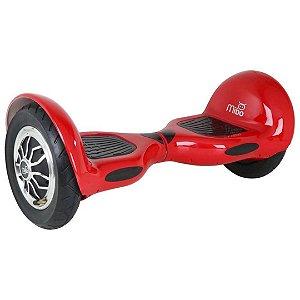"""Hoverboard Elétrico Vermelho Mibo MB-003 com Roda de 10"""" e Bluetooth"""
