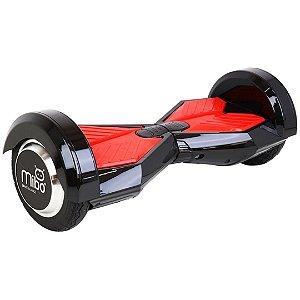 """Hoverboard Elétrico Mibo Preto com Roda de 8.0"""" e Bluetooth"""