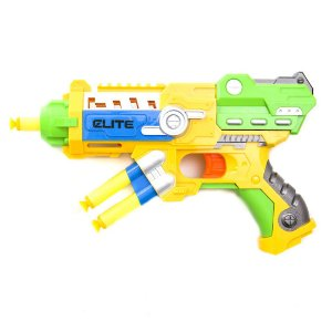Super Rifle Brinquedo Blaster sharp shooter  Atira Dardos Soft