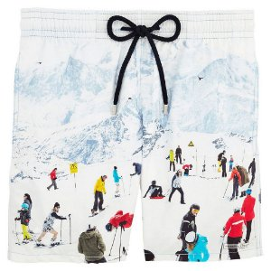 Bermuda Vilebrequin Swimwear Snow