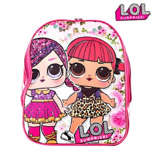 Mochila Escolar Infantil Boneca Lol Surprise De Costas