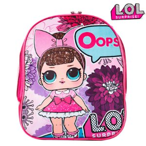 Mochila Infantil Escolar De Costas Boneca Lol Surprise