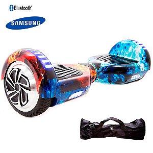 Hoverboard 6,5  Fogo Hoverboardx USA Smart Bateria Samsung+bolsa