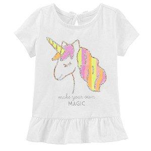 Blusa Unicornio Carter´s
