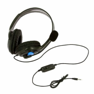 Fone Headset Gaming Gamer  Para PS4 com Microfone