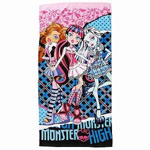 A Toalha de Banho Felpuda das Monster High  Infantil Personagens