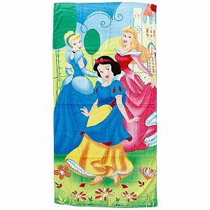 A Toalha de Banho Felpuda das Princesas Infantil Personagens
