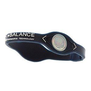 Pulseira Power Balance Azul Escuro Tamanho G