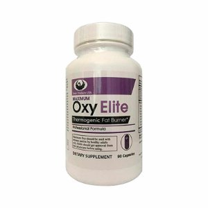 Suplemento Maximum Oxy Elite Pro Termogênico 90 Cápsula