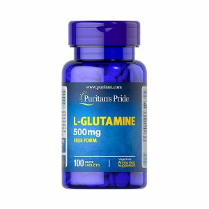 L-Glutamina Puritans Pride 500mg 100 Tablets