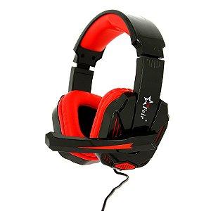 Fone Gamer Headset  Feir Fr-512 Vermelho USB Xbox One Ps4 Pc