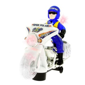 Moto infantil Super Policial com Som e Luz