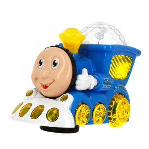 Trem Trenzinho Thomas Com Musica E Luzes Infantil Divertido