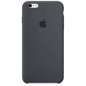 Capa iPhone 6 e 6s Silicone Case Apple Grafite