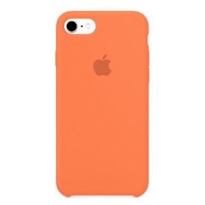 Capa Iphone 7/8 Silicone Case Apple Salmão