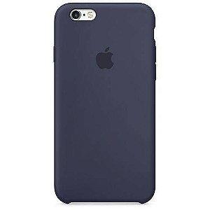 Capa iPhone 6 e 6s Silicone Case Apple Azul Marinho