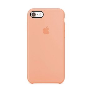 Capa para iPhone 6 e 6s Silicone Case Apple Salmão