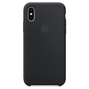 Capa iPhone XS Max Apple Silicone Preto