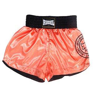 Shorts de Muay Thai Cetim Stamp Mellon Rudel Sports Tamanho P