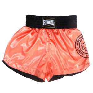 Shorts de Muay Thai Cetim Stamp Mellon Rudel Sports Tamanho M