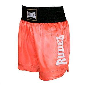 Shorts de Muay Thai Cetim MT 14 Mellon Série 2 Rudel Sports Tamanho P