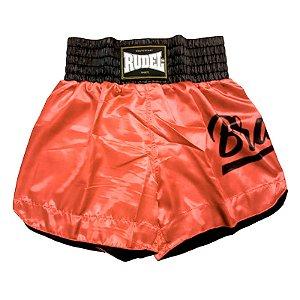 Shorts de Muay thai Cetim Mellon Brave Rudel Sports Tamanho P