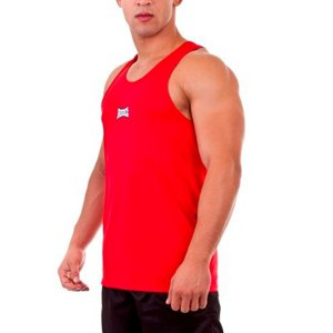 Camiseta Regata Dry I Vermelho Rudel Sports Tamanho P