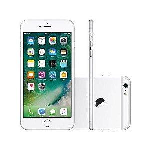 iPhone 6 Plus 16gb Prata, Tela de 5.5', Camera 8Mpx, Processador A8, Touch ID