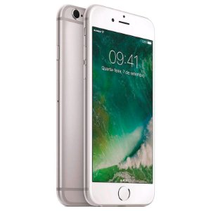 Iphone 6 Plus Apple 64gb Prata Apple