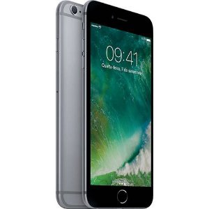 "iPhone 6s 16GB Cinza Espacial Tela 4.7"" iOS 9 4G 12MP - Apple"