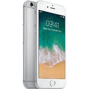 "iPhone 6s 32GB Preto Tela Retina HD 4,7"" 3D Touch Câmera 12MP"