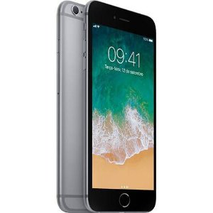 "iPhone 6s Plus 32GB Cinza Tela Retina HD 5,5"" 3D Touch Câmera 12MP - Apple"