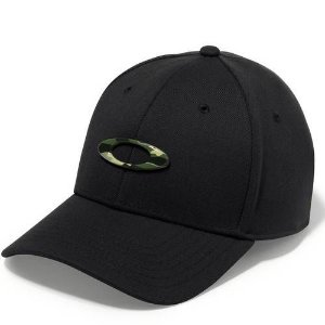 Boné Oakley Tincan Cap Com Logo Camuflado Preto S/M