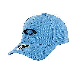 Boné Oakley Tincan Cap Azul Bebe Com Logo Preto