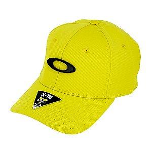 Boné Oakley Tincan Cap Amarelo Com Logo Preto