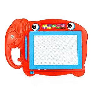 Lousa Mágica Infantil Com Tela Multi Colorida de Elefante