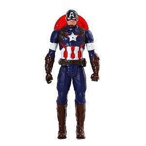 Boneco Vingadores Capitão America 28cm Marvel