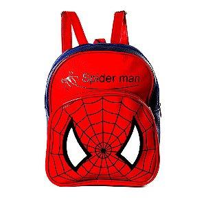 Mochila Infantil Homem Aranha de Costas Pequena