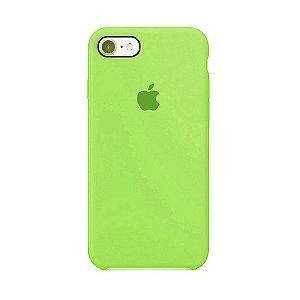 Capa para iPhone 6 e 6s em Silicone Apple Verde - PR